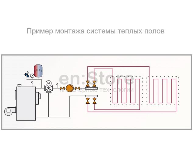 Насос отопления схема электрическая подключения